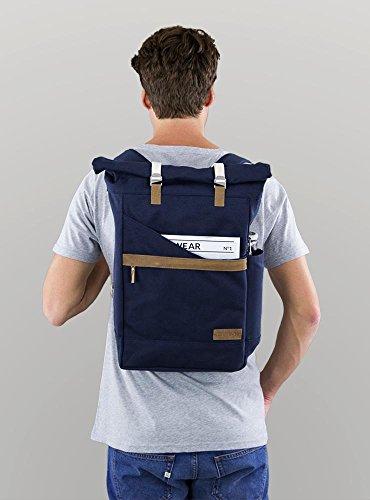leSac à dos Scandinave Ansvar en coton bio avec compartiment laptop pour homme ou femme pour un usage quotidien intensif