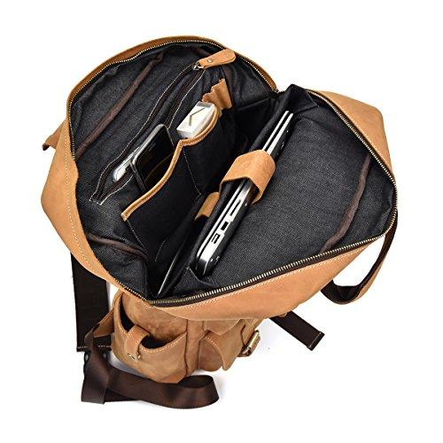 sac à dos avec emplacement laptop homme cuir multipoche avec emplacement laptop
