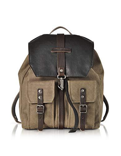 sac à dos cuir luxe vintage marron satiné The Bridge