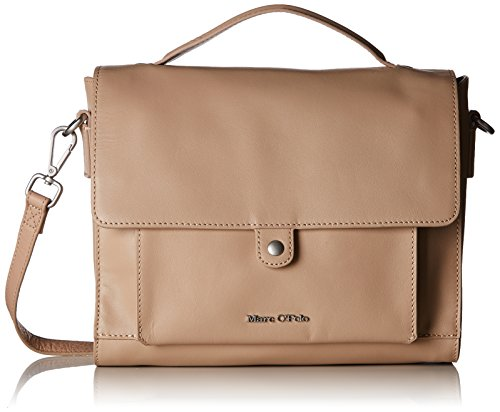 Le sac cartable beige nude de Marco Polo