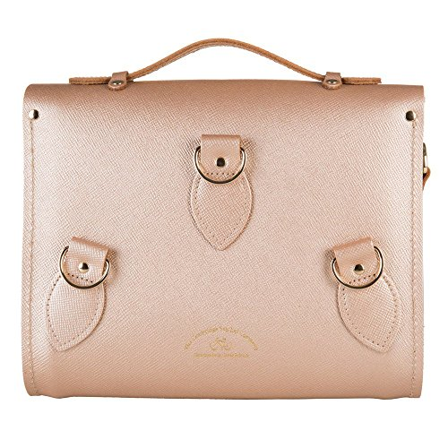 Sac cartable rétro Cambridge Satchel or pour femme original