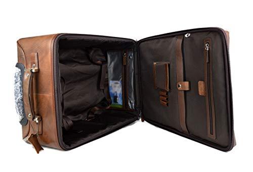 Compartimentation intelligente de la valise pilote Cortez parfaite pour ranger tous vos documents de travail et dossiers professionnels ainsi que votre portable.